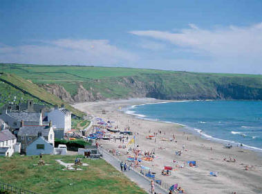 Just To The North You Will Find The Whistling Sands Of Porthor